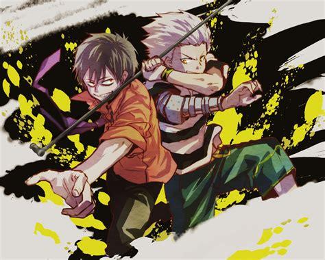 blood lad wolf wolf blood lad zerochan anime image board