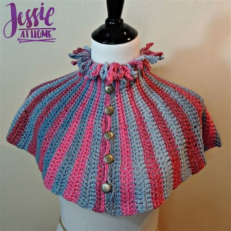 back quiver pattern quiver capelette a free crochet patter to dress up your