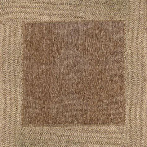 rugs 9x9 9x9 beige and brown border rug for indoors or outdoors