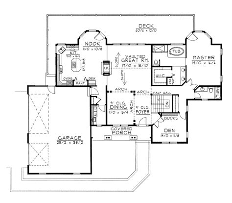 rustic ranch home plan 096d 0033 house plans and more
