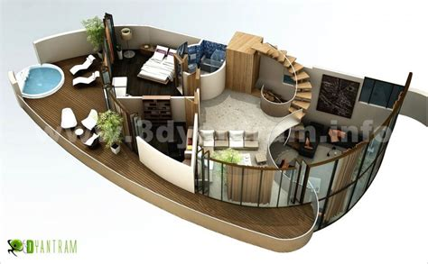 floor plan 3d house building design home 3d floor plan by yantram studio 3d artist
