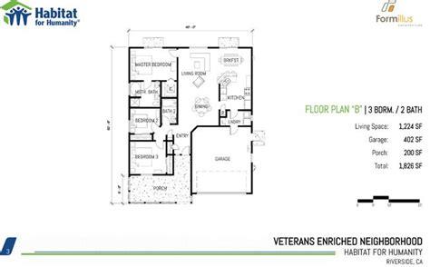 Habitat For Humanity Floor Plans
