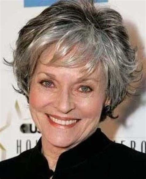 short hairstyles for gray haired women over 60 short gray hair for women over 60