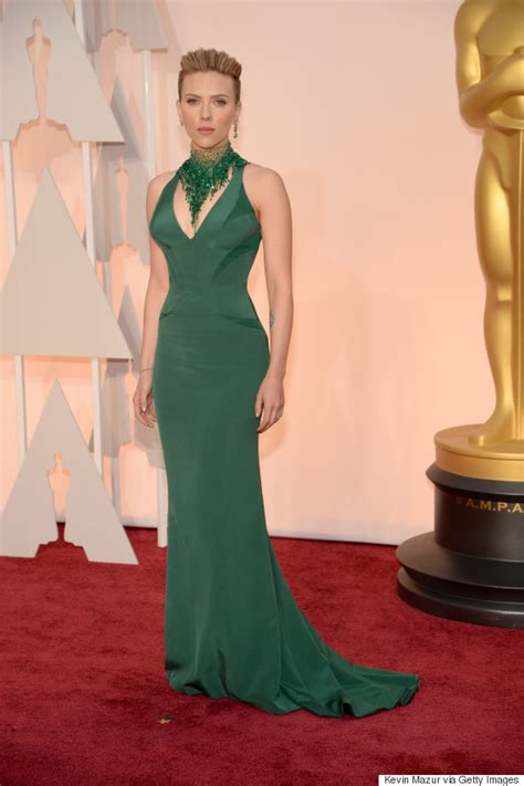scarlettjohanssonhaircut at the oscars new mom scarlett johansson wows at the oscars american