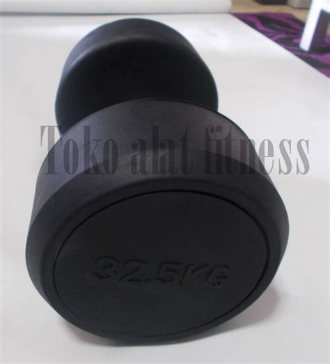 Dumbell Fix Rubber 5kg dumbell fix rubber 32 5kg toko alat fitness