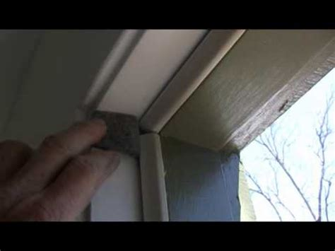 cold air leaking around a door weatherstripping a door 1