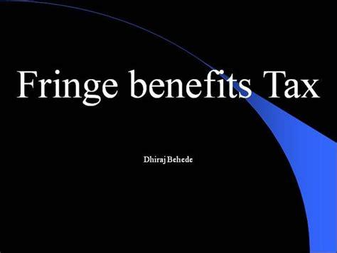 Gift Card Taxable Fringe Benefit - fringe benefit tax authorstream