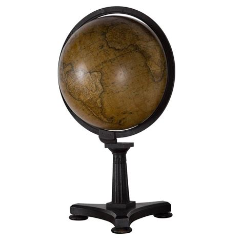 Globe Table L Pair Of Celestial And Terrestrial Table Top Globes At 1stdibs