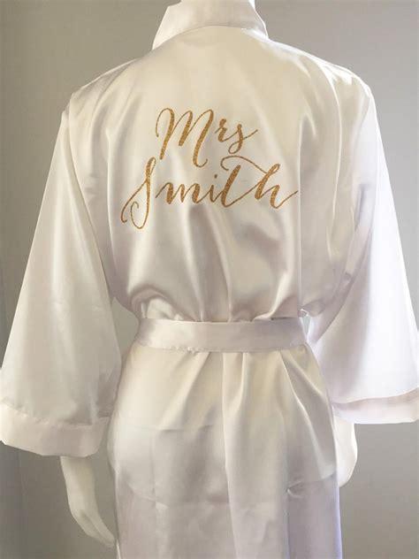 Bridal Robes by Robe Wedding Day Robe Matching Bridesmaid Robes
