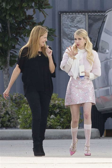 emma roberts new film emma roberts at scream queens movie set in new orleans