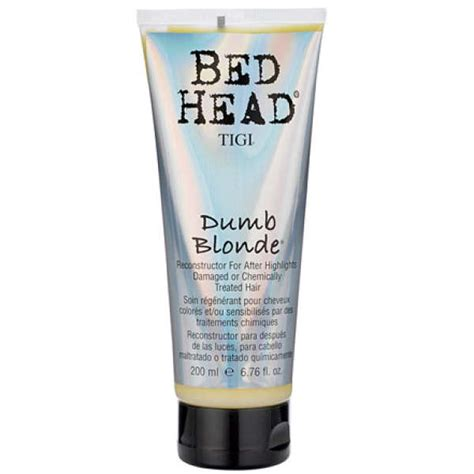 bed head reviews tigi bed head dumb blonde conditioner 200ml free