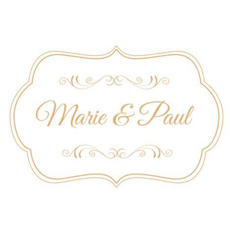 Wedding Invitation Design Png by Wedding Label Decoration 3 Transparent Png Svg Vector