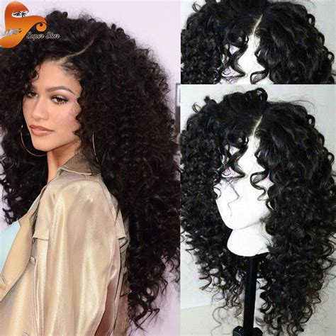 best curly lace human hair wigs unprocessed