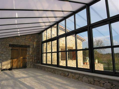veranda metall veranda extension acier sur mesure cantini m 233 tal marseille