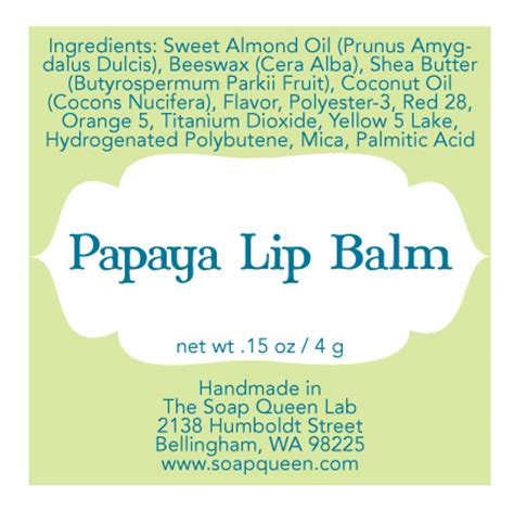 chapstick label template lip balm label templates free downloadable file