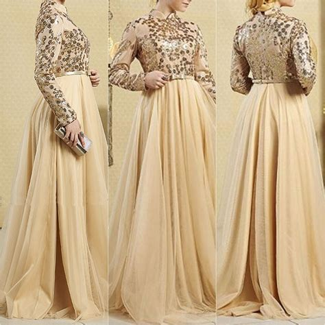 Kaftan Pesta Abaya Maxi Ranita Bordir gold modanista engagement dress hijabfashioninspiration engagement dress
