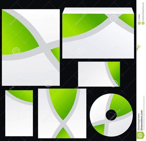 corel draw x4 design design template for business stock photo image 11126880