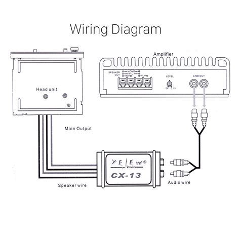 how to install a line out converter diagram line level converter wiring diagram repair wiring scheme