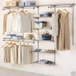 rubbermaid deluxe portable closet organizer system hanging