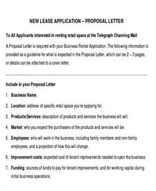 Letter Rent Shop Sle Lease Letter 9 Exles In Pdf Word