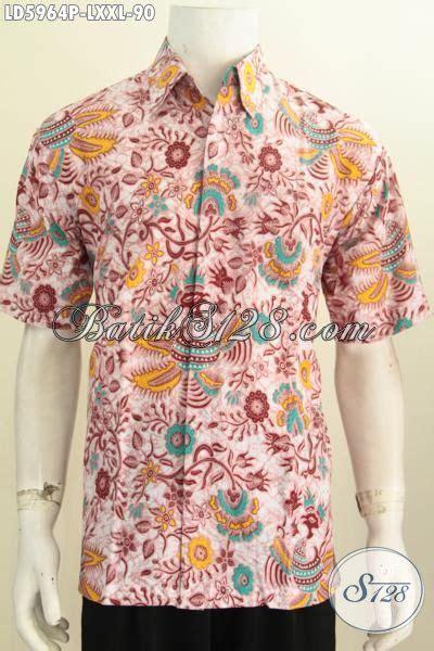 Batik Modis Keren Murah baju hem modis warna cerah produk pakaian batik cowok
