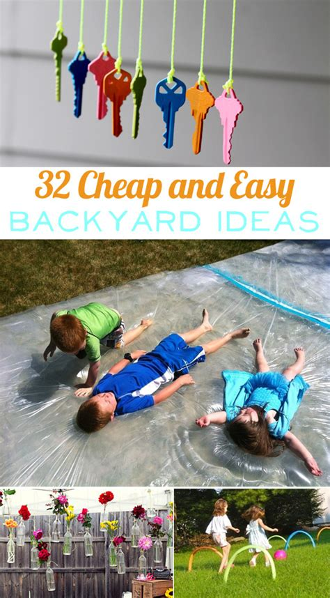 cheap backyard ideas for kids 32 cheap and easy backyard ideas that are borderline genius