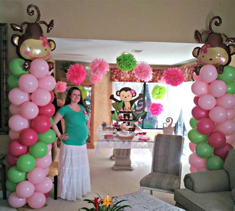 Baby Monkey Decorations Baby Shower by Monkey Baby Shower Decorations Www Imgkid The
