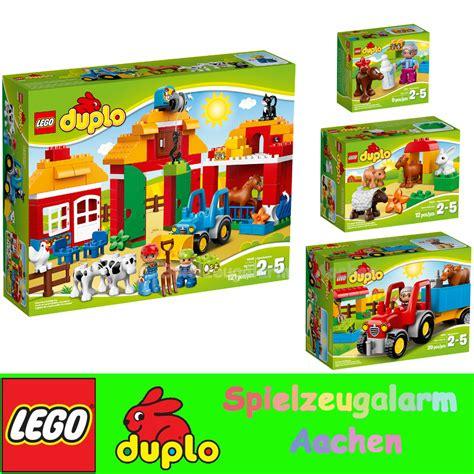 lego duplo scheune lego duplo gro 223 er bauernhof farm 10525 10524 10522 10521