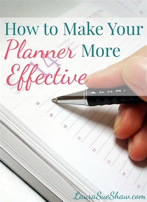 5 Ideas To Check Out by How To Make Your Planner More Effective Awesome How To