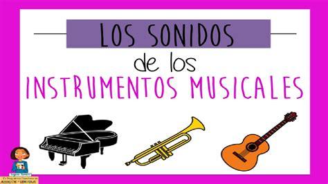 imagenes de sonidos musicales los sonidos de los instrumentos musicales discriminaci 243 n