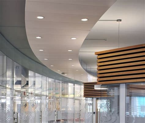 Metal Ceiling System by Suspended Metal Ceilings Sas System 205