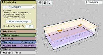 Lighting Layout Calculator Led Lighting Ideas Light Fixture Calculator