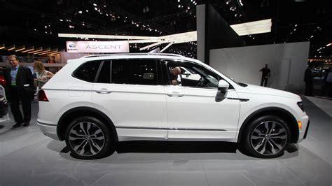 volkswagen r line volkswagen debuts stylish r line trim for 2018 tiguan