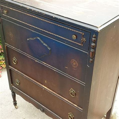 Repurposed Dresser by Repurposing Dresser With Decoupage Map