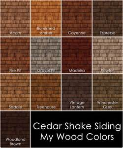colors of siding mod the sims cedar shake siding