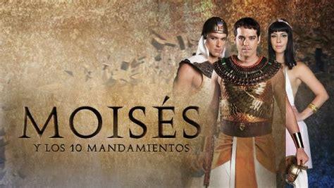 www novela moises y los diez mandamientos cuando termina moises y los 10 mandamientos en telefe