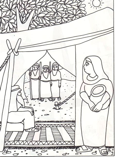 abraham tent coloring page 86 best images about bible abraham on pinterest abraham