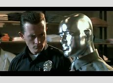 In Terminator 2: Judgement Day, the T-1000 gives this ... T 1000 Terminator 2
