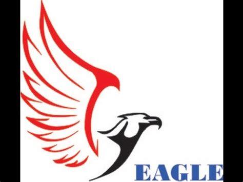desain coreldraw membuat vektor elang create vector eagle