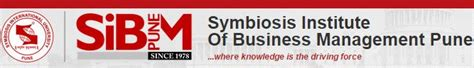 Sibm Mba Syllabus by Symbiosis Institute Of Business Management Sibm Pune