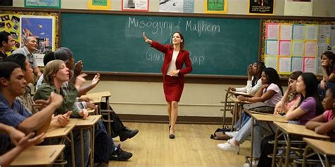 film education up freedom writers hilary swank movie review nytimes com