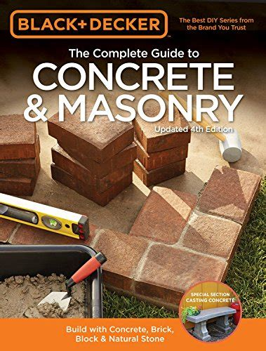 black decker the complete outdoor builder updated edition from arbors to walkways 150 diy projects books how build concrete hemispheres how do it info