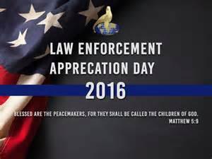 enforcement appreciation day 2016