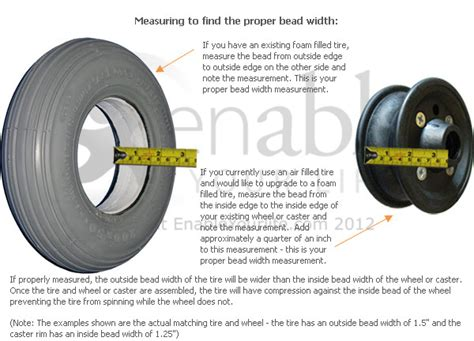 how to a bead on a tire 12 1 2 x 2 1 4 in 62 203 primo power express foam
