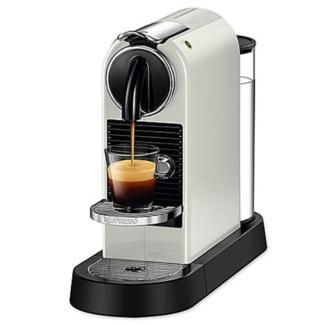 bed bath and beyond espresso nespresso 174 citiz single serve espresso maker bed bath