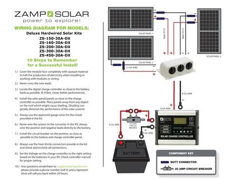 z solar zs 450 30a dx 450 watt 30 deluxe rv kit