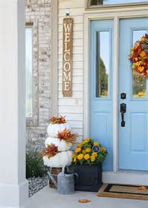 home design ideas fall front door decorations front door