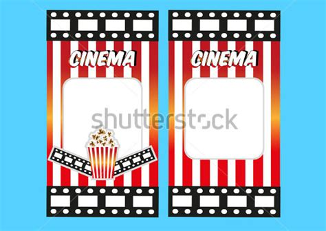 movie ticket template word new calendar template site