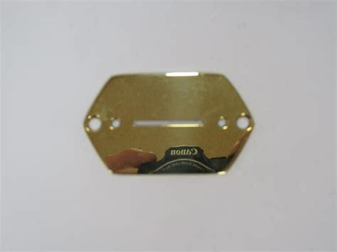 Fender Jaguar Switches Fender Jaguar Blade Switch Plate Brass Polished Finish
