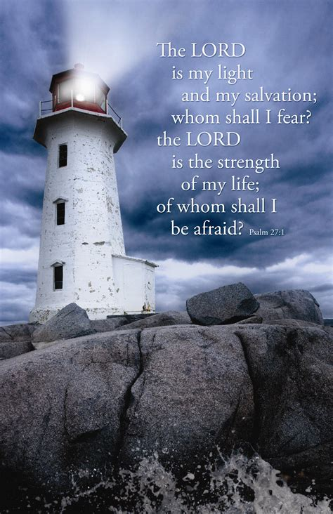 Lord Is My Light   Psalm 27:1 (KJV)   Parable Christian Stores